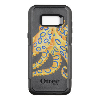 Blue Ring Octopus OtterBox Commuter Samsung Galaxy S8+ Case