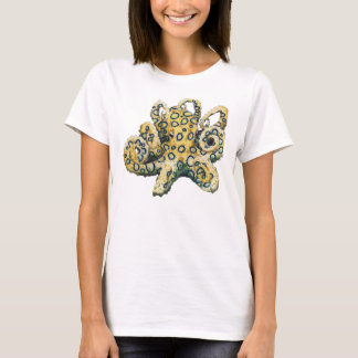 Blue ringed octopus tee for ladies