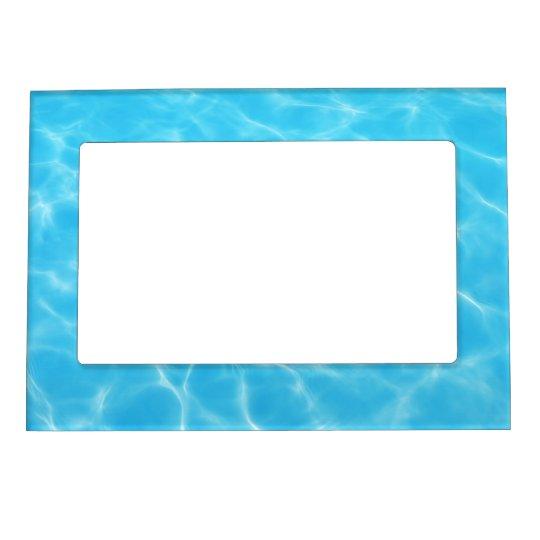 Blue ripples magnetic frame