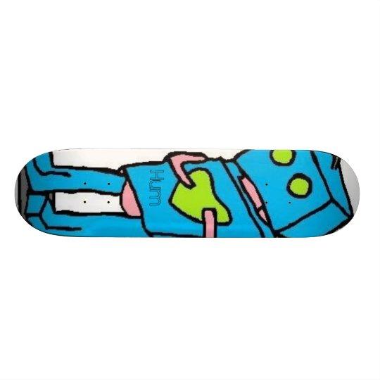 Blue Robo Board Skateboard Decks