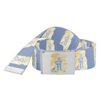 Blue robot belt