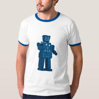 Blue Robot - Sci Fi Nerdy Hotness T-Shirt