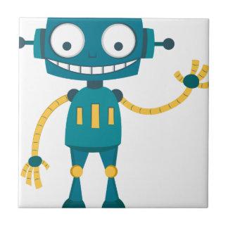 Blue Robot Tile