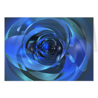Blue Rondo Card