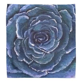 Blue Rose Bandana