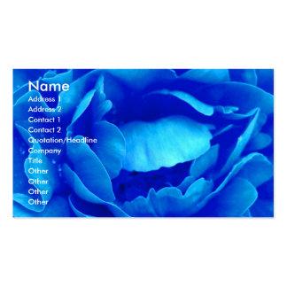 Blue Rose Florist I Business Card Business Card