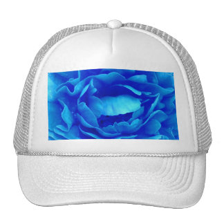 Blue Rose Hat - Customizable Mesh Hats