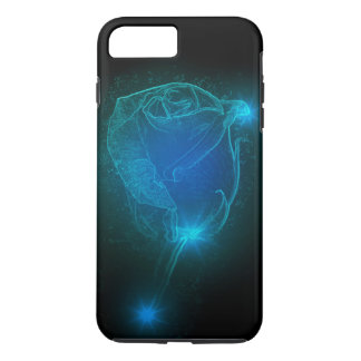 Blue Rose iPhone 8 Plus/7 Plus Case