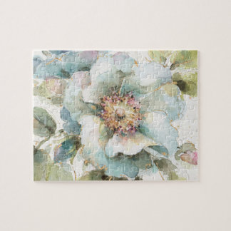 Blue Rose Jigsaw Puzzle