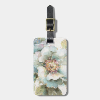 Blue Rose Luggage Tag