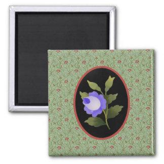 Blue Rose Magnet