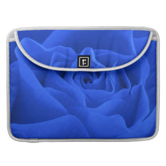 Blue Rose Petals Sleeve For MacBook Pro