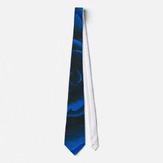 Blue Rose Tie