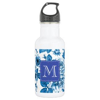 Blue Roses 532 Ml Water Bottle