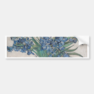Blue roses bumper sticker