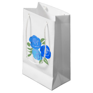 Blue Roses Gift Bag