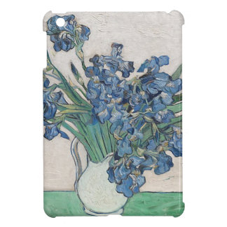 Blue roses iPad mini cover