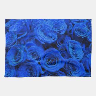Blue Roses Kitchen Towel