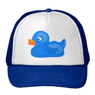 Blue Rubber Duck Mesh Hat