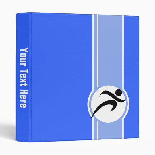 Blue Running Binder