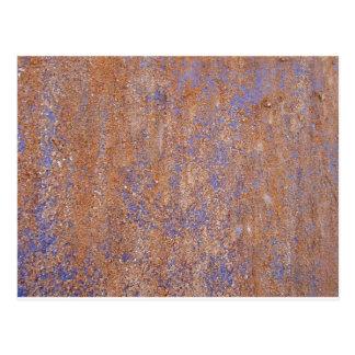 Blue Rust Postcard