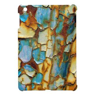 Blue Rusty Chipping Paint iPad Mini Case