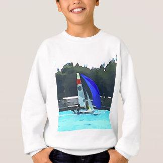 Blue Sailboat Sweatshirt