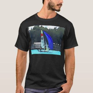 Blue Sailboat T-Shirt