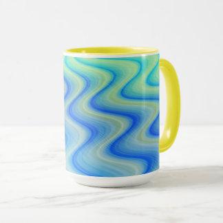 Blue Sand Designer Coffee Mug by Julie Everhart