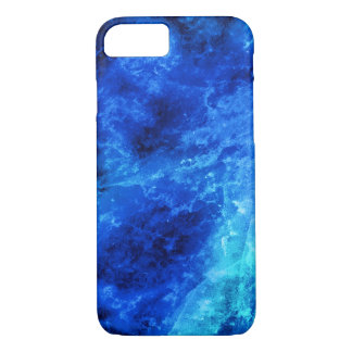 Blue Sapphire Texture iPhone 8/7 Case
