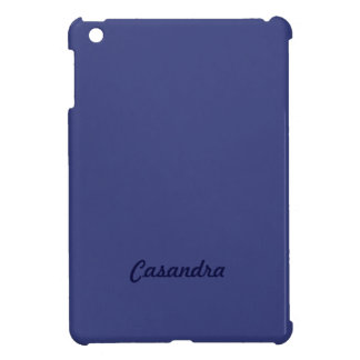 Blue Satin Look and Customize them yourself Cover For The iPad Mini