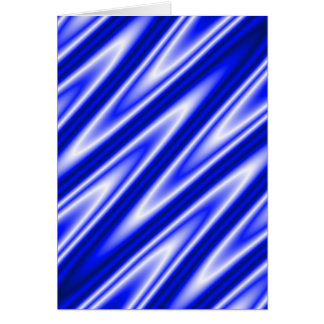 """Blue """"satiny"""" waves background greeting card"""