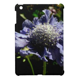 Blue Scabiosa flower Case For The iPad Mini