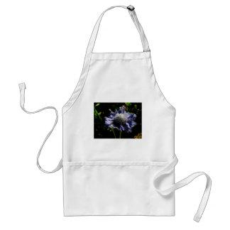Blue Scabiosa flower Standard Apron
