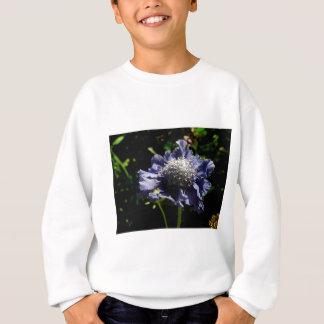 Blue Scabiosa flower Sweatshirt