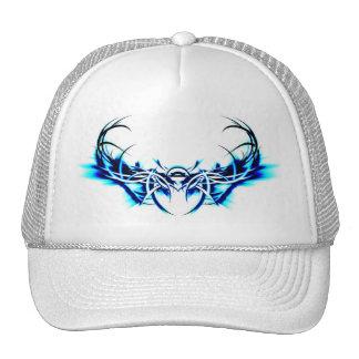 Blue Scarab Trucker Hat