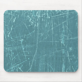Blue Scratched Aged and Worn Texture Mousepads