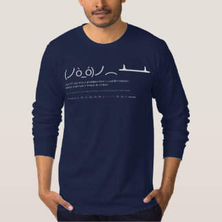 Blue Screen American Jersey Long Sleeve T-S T-Shirt