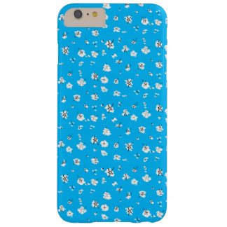 Blue Scribble Stars Phone Case