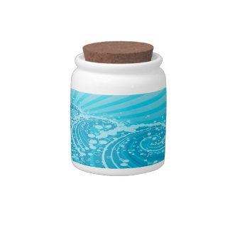 Blue Sea 1 Candy Jar Options
