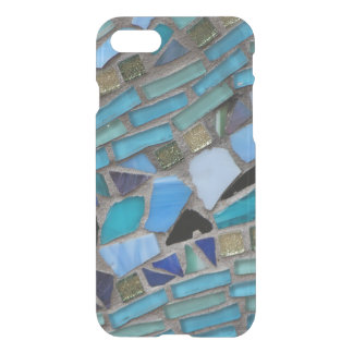 Blue Sea Glass Mosaic iPhone 8/7 Case