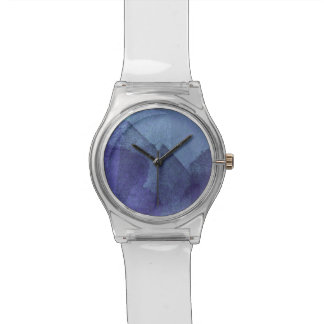 Blue sea ocean nature abstract painting art watches