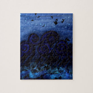 Blue Sea of Melancholy Jigsaw Puzzle