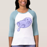 Blue Sea Otter T Shirts