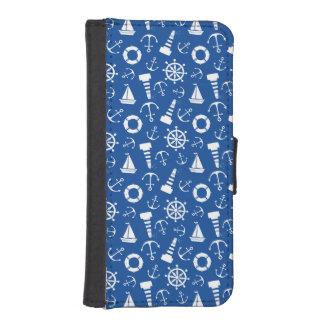 Blue Sea Pattern Phone Wallets