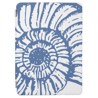Blue Sea Snail Shell iPad Air Cover