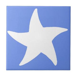 Blue Sea Star Tile