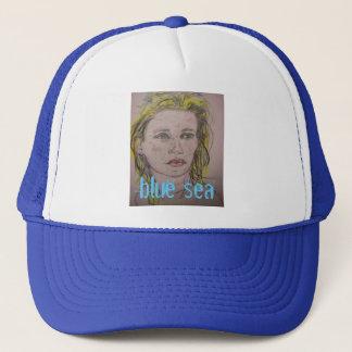 Blue Sea Trucker Hat