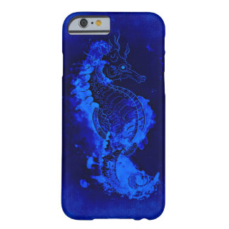 Blue Seahorse Painting Barely There iPhone 6 Case