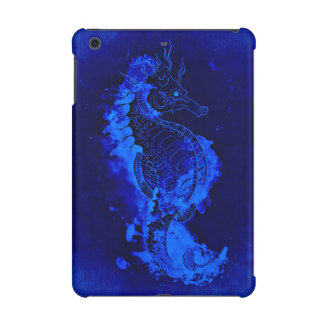 Blue Seahorse Painting iPad Mini Case